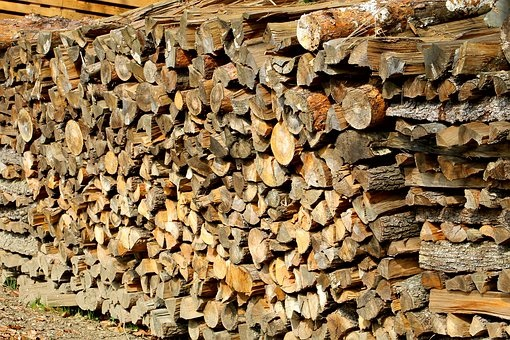 estufa de leña exterior madera