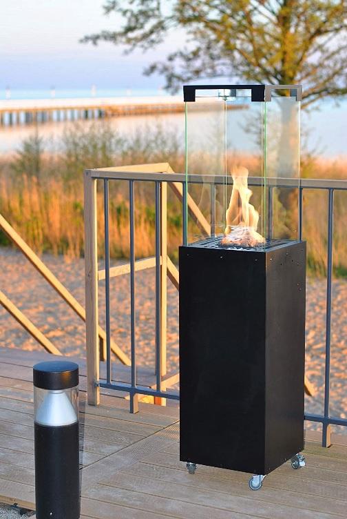 estufa exterior de gas Planilka